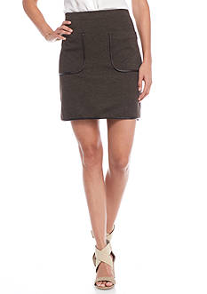 Sophie Max Ponte Pocket Skirt