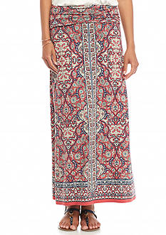 Sophie Max Printed Jersey Maxi Skirt