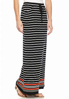 Sophie Max Striped Maxi Skirt