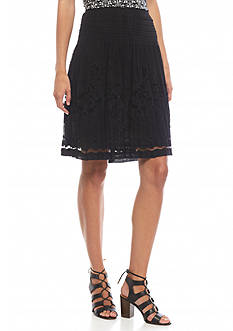 Sophie Max Lace Skirt