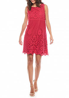 Sophie Max Scalloped Lace Dress
