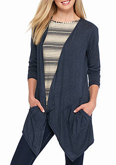 Sophie Max Heathered Knit Cardigan