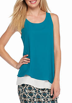 Sophie Max Double Layer Asymmetrical Tank
