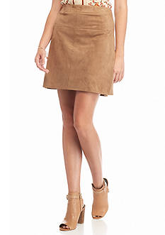 Sophie Max Lux Suede Skirt