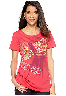Kim Rogers Short Sleeve Art Dragonfly Tee