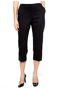 Kim Rogers Sateen Soild Color Crop Pant