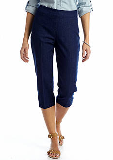 Kim Rogers® Pull-On Stretch Jean Capri