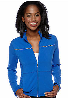 be inspired Petite Long Sleeve Active Jacket with Novelty Taping