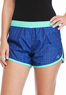 be inspired Geo Printed Running Shorts