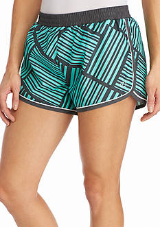 be inspired Printed Running Shorts