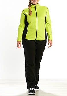 be inspired Plus Size Two 3D Mesh Jacket Set