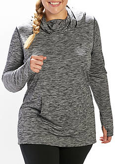 be inspired Plus Size Long Sleeve Stretch Hoodie