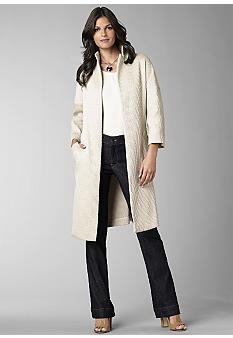 Kristin DavisBrocade Gold Topper Jacket - Belk.com