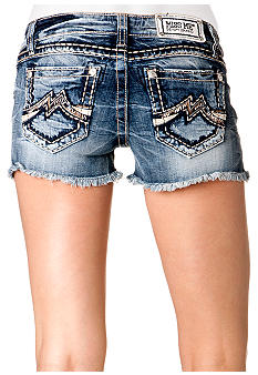 Miss Me M Pocket Jean Short