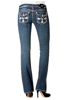 Miss Me Cross Pocket Bootcut Jean