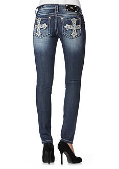 Miss Me Crossing Path Skinny Jean