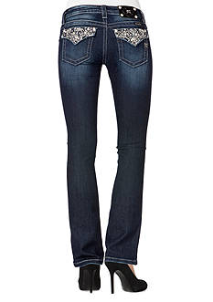Miss Me Diamonds and Pearls Boot Cut Jean
