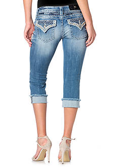 Miss Me Embellished Pocket Capri Jeans