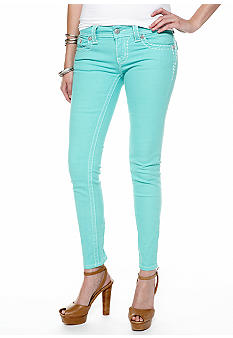 Miss Me Color Ankle Skinny Jeans