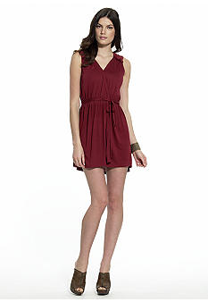 MM COUTURE by Miss Me Embellished Wrap Dress