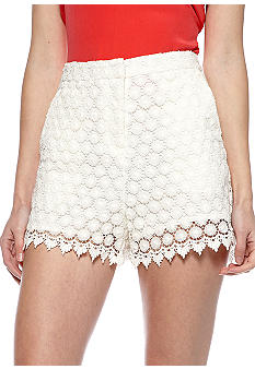 MM COUTURE by Miss Me Crochet Short