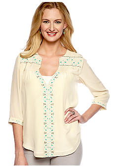 MM COUTURE by Miss Me Embroidered Tunic
