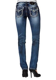 Miss Me Mid Rise Flap Pocket Boot Cut Jean