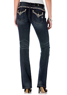 Miss Me Embellished Flap Pocket Jeans