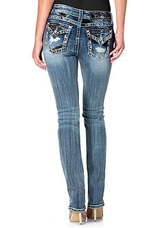 Miss Me Mid-Rise Straight Leg Jeans