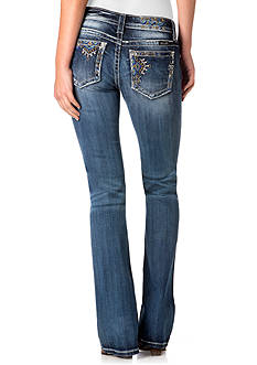 Miss Me Beaded 5-Pocket Bootcut