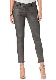 Miss Me Coated Skinny Jeans