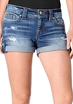 Miss Me Cuffed Denim Shorts