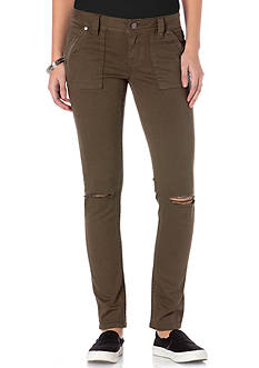 Miss Me Cargo Pocket Colored Jeans