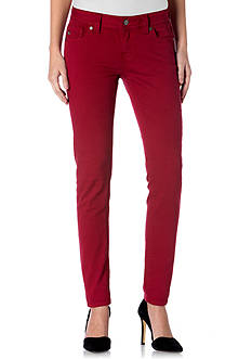 Miss Me Red Skinny Jeans