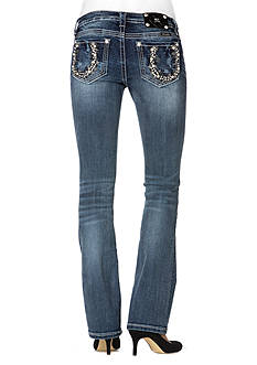 Miss Me Mid Rise Horse Shoe Boot Cut Jean