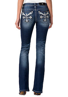 Miss Me Cross Flap Pocket Jeans