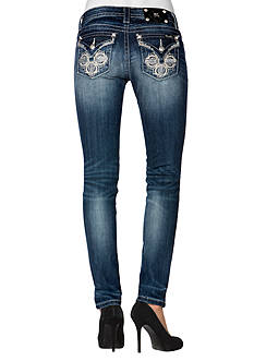 Miss Me Relaxed Flap Skinny Jean