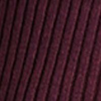 Women: Bcbgeneration Sweaters: Merlot Combo BCBGeneration Rib Turtleneck Tunic