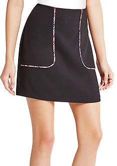 BCBGeneration Piping Detail Mini Skirt
