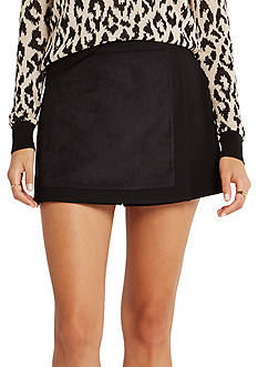 BCBGeneration Button Front Skort