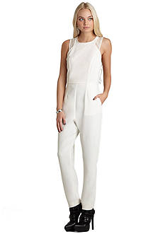 BCBGeneration Race Front Jumpsuit
