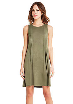 BCBGeneration Side Pintucked Dress