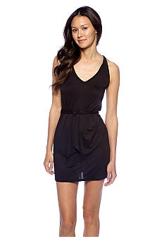 BCBGeneration Cross Back Jersey Dress