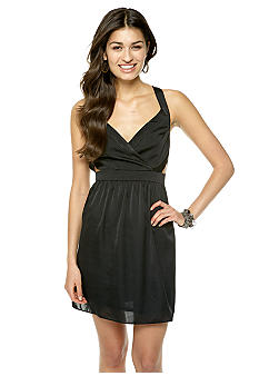 BCBGeneration Cross Over Front Open Back Dress