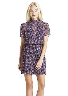BCBGeneration Mock Neck Dress