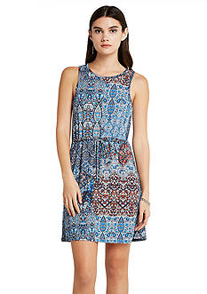 BCBGeneration Front Drawstring Dress