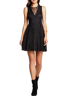 BCBGeneration Lace Mix Dress