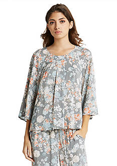 BCBGeneration Prairie Rose Trapeze Top