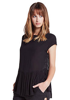 BCBGeneration Lace Back Boxy Top