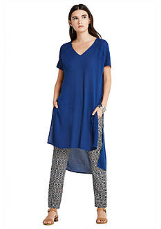 BCBGeneration Tunic Dress With Embroidery